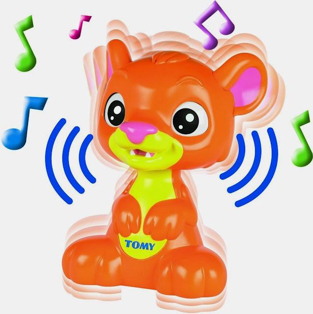Đồ chơi Sư tử con phát nhạc rất thú vị và đặc sắc
