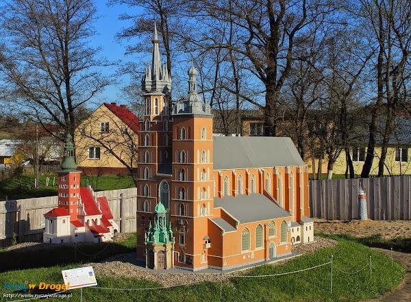 Kaszubski Park Miniatur Strysza Buda - gdański Kościół Św, Katarzyny