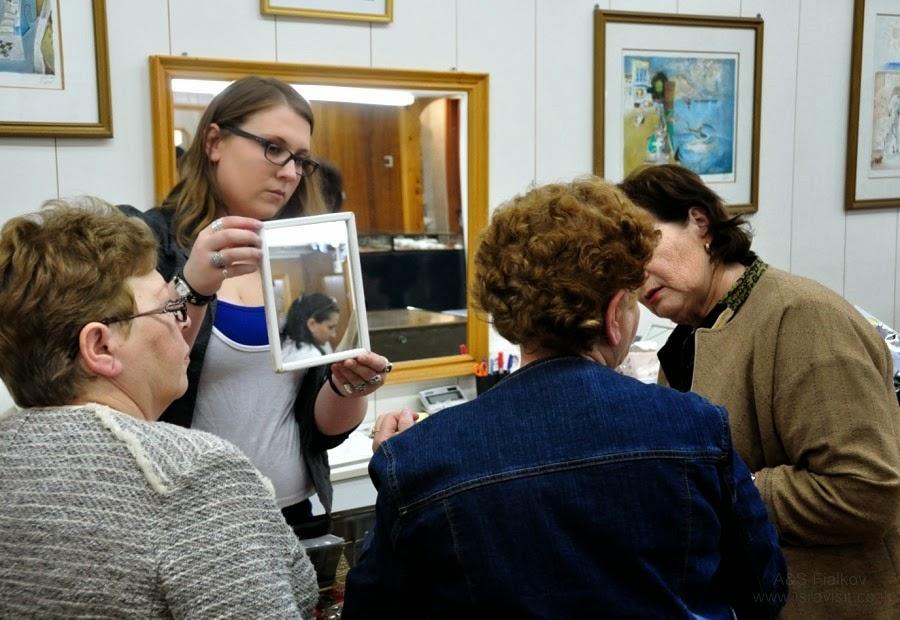 Магазин серебра в Кацрине. Экскурсия на Голаны гида в Израиле Светланы Фиалковой