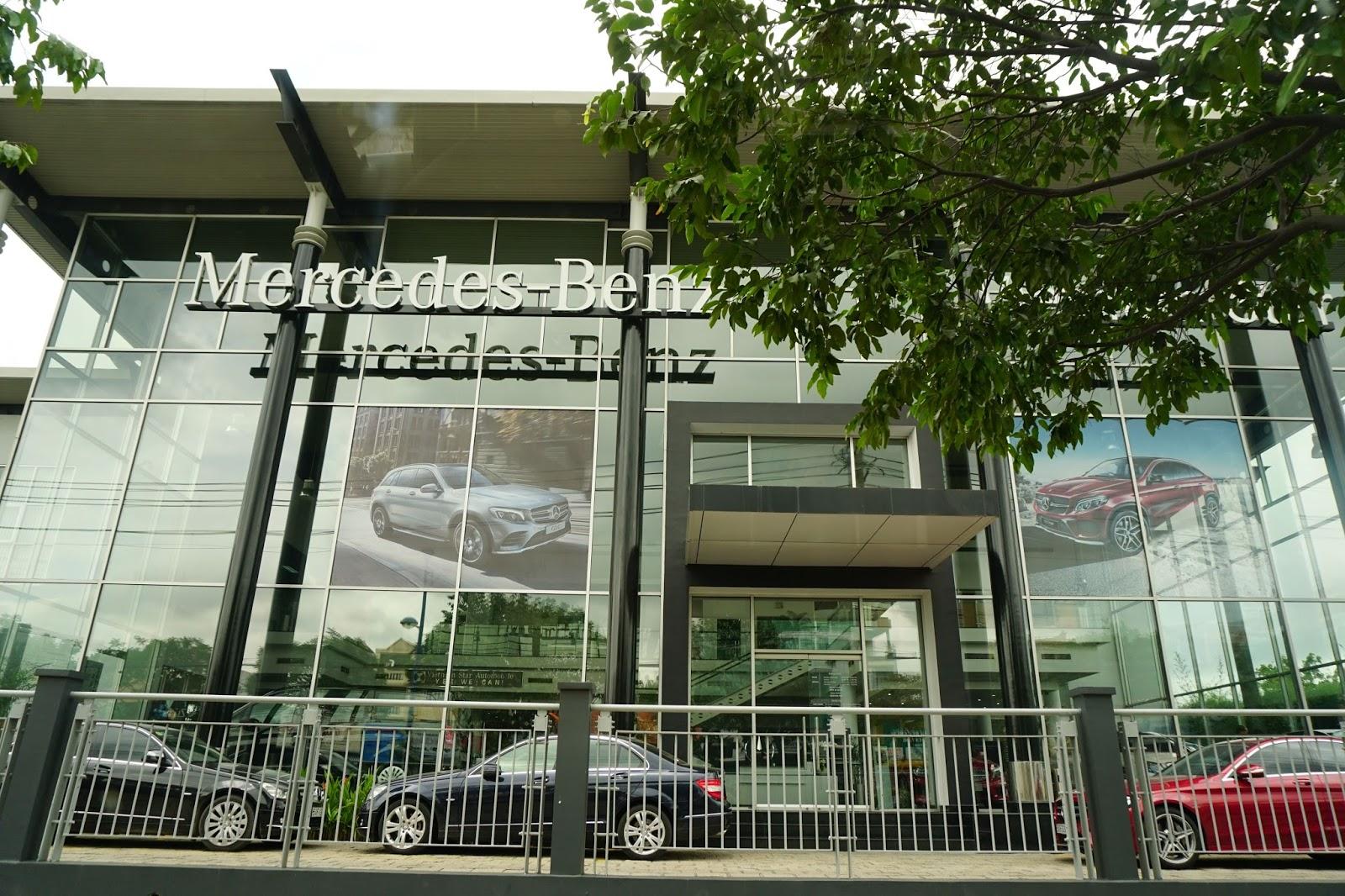 Vietnam Star Trường Chinh là đại lý Mercedes Benz có quy mô, diện tích rất lớn