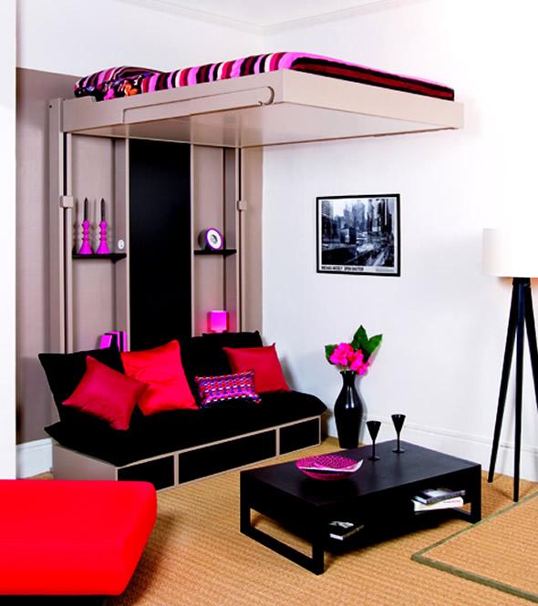 Art Wall Decor: Teenage Girl Bedroom Wall Designs