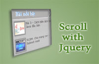 Hiệu ứng cuộn jquery, bai viet noi bat, scroll with jquery