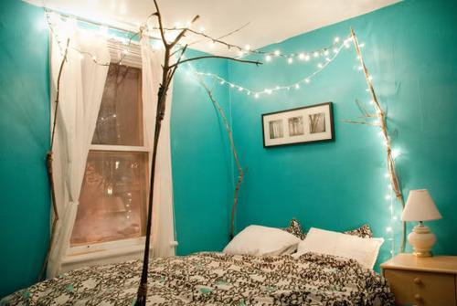 Lucine da sogno la tazzina blu - Lucine camera da letto ...