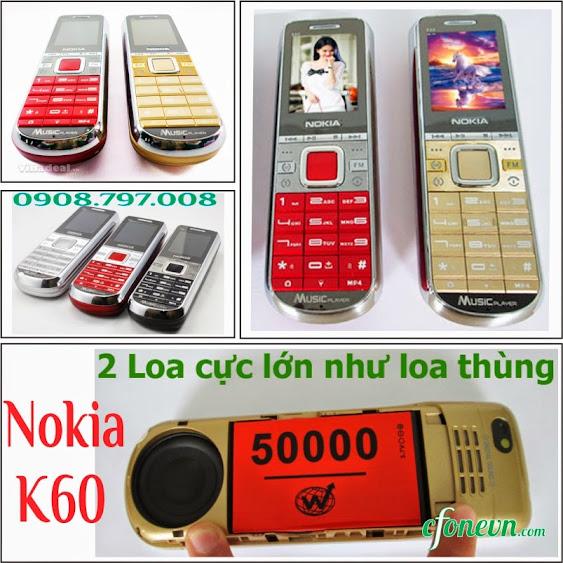 Dien thoai Nokia K60 con sot van chua tan