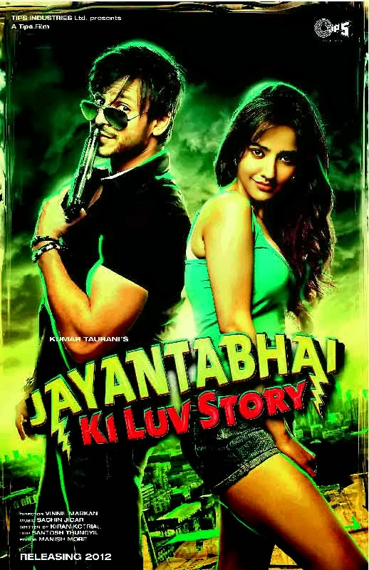 Poster Of Hindi Movie Jayantabhai Ki Luv Story (2013) Free Download Full New Hindi Movie Watch Online At Alldownloads4u.Com