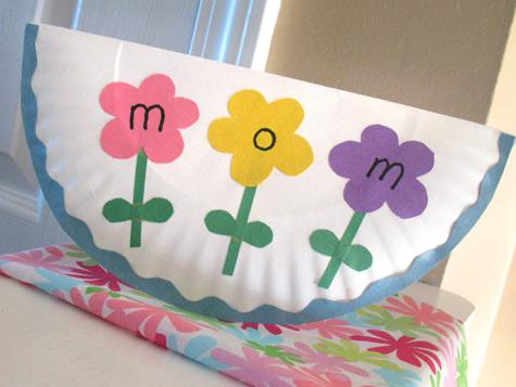 2011 Paper Plate Mother's Day Card ~ Energy Mindful Kids