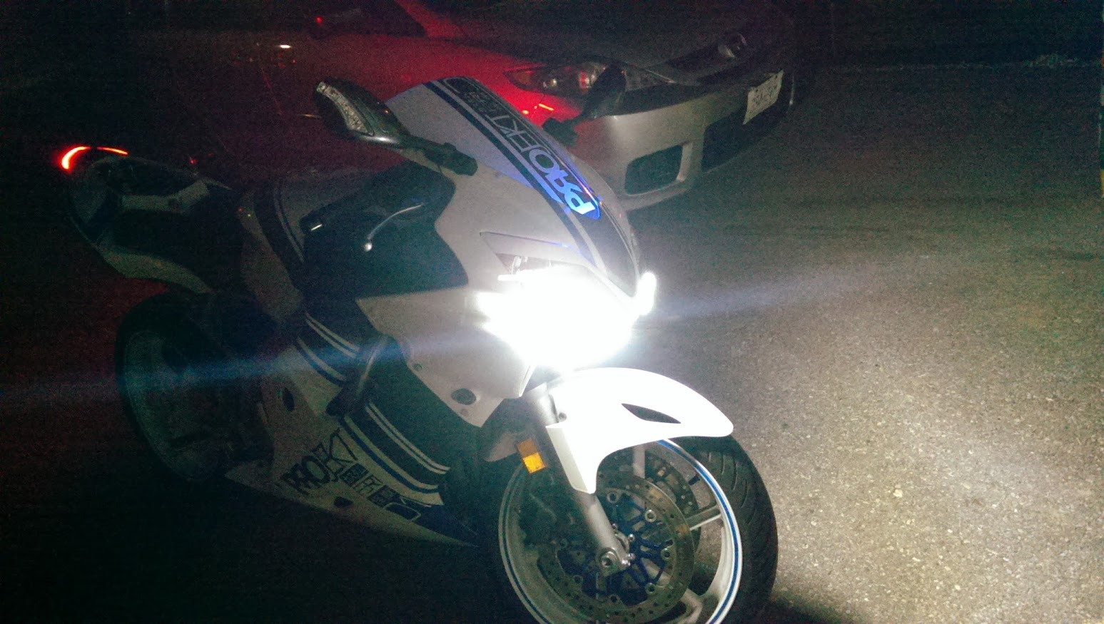 98 Cbr F3 Project Bike Sssa Car Rim R1 Tail F4i Front Page 25 Headlight T Shirt New Led Drls They Are Bright Enough To Use Until Dusk Then I Flip On The Lights Run These Full Time Wired Illumination Wire From Gauge
