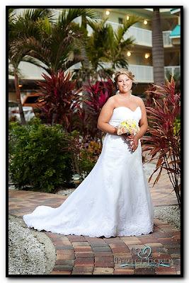 Bride at Sunset Vistas