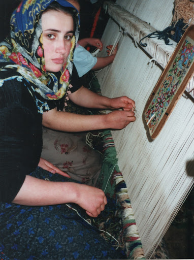 Young Carpet Weaver, Turkey