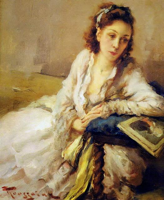 Fernand Toussaint - La Femme Accoudee