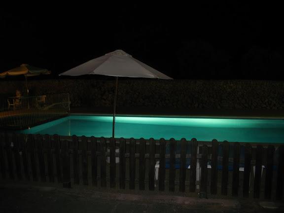 Nocturno de piscina-Menorca