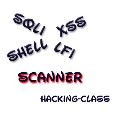 SQLi | LFI | XSS | ShEll UpLoad - Vulnerable site scanner