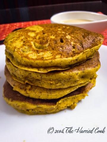 Carrot Cake Pancakes With Pancake Mix