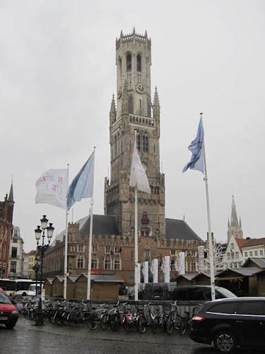 ブルッへ鐘楼塔@ベルギー