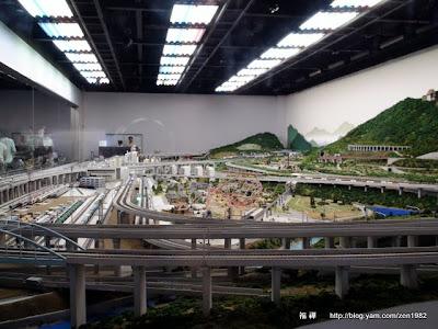 非常擬真的鐵道模型秀