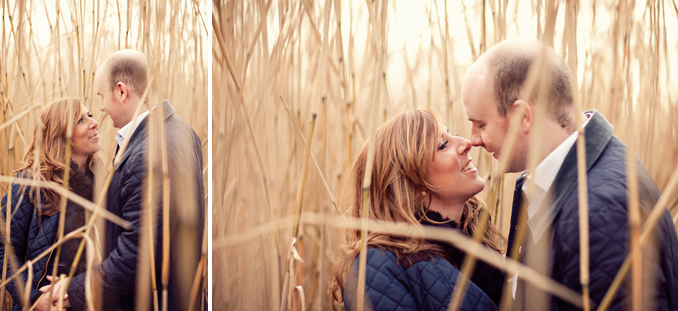 cute corn field engagement session by STUDIO 1208