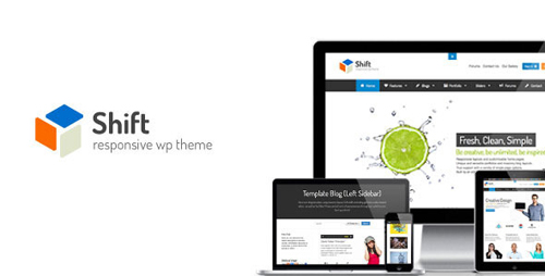 Shift - Flexibly Creative WP Theme