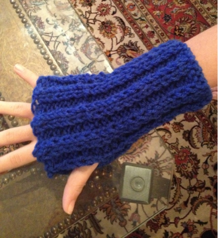 Julies Creative Lifestyle Knitted Hand Warmers Pattern