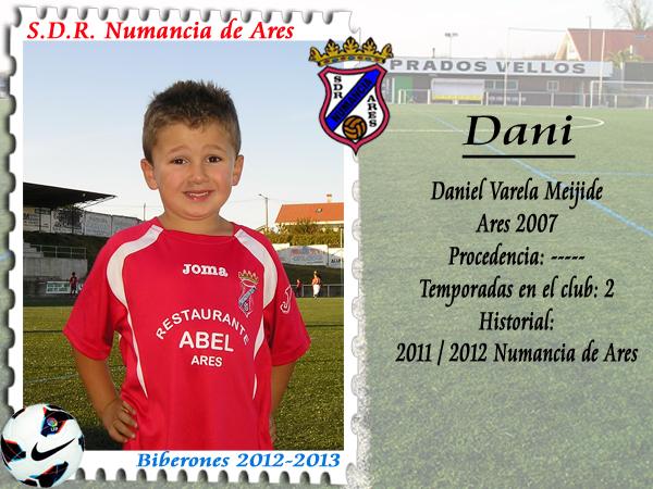 ADR Numancia de Ares. Dani.