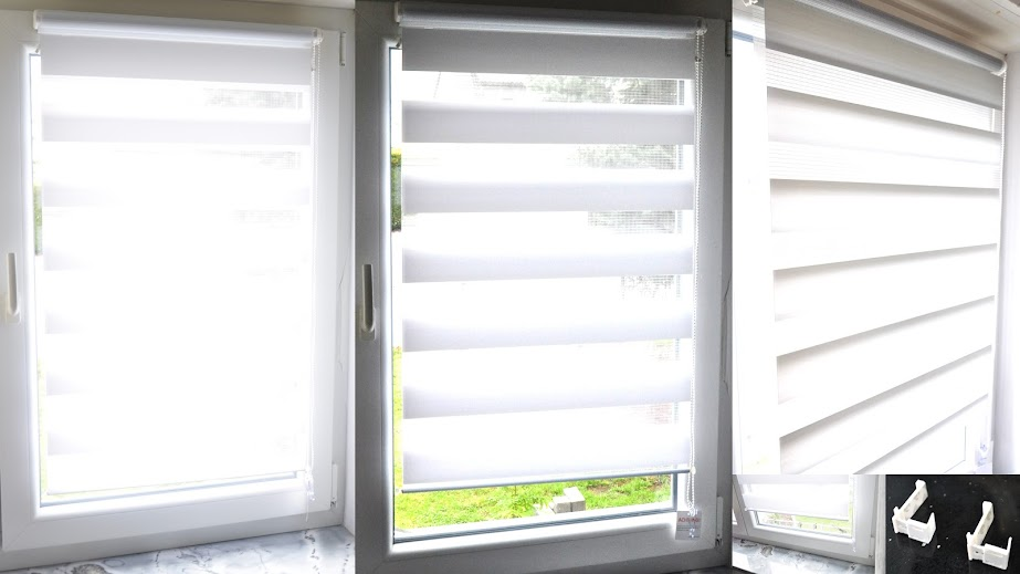 how to fix roller blinds without drilling