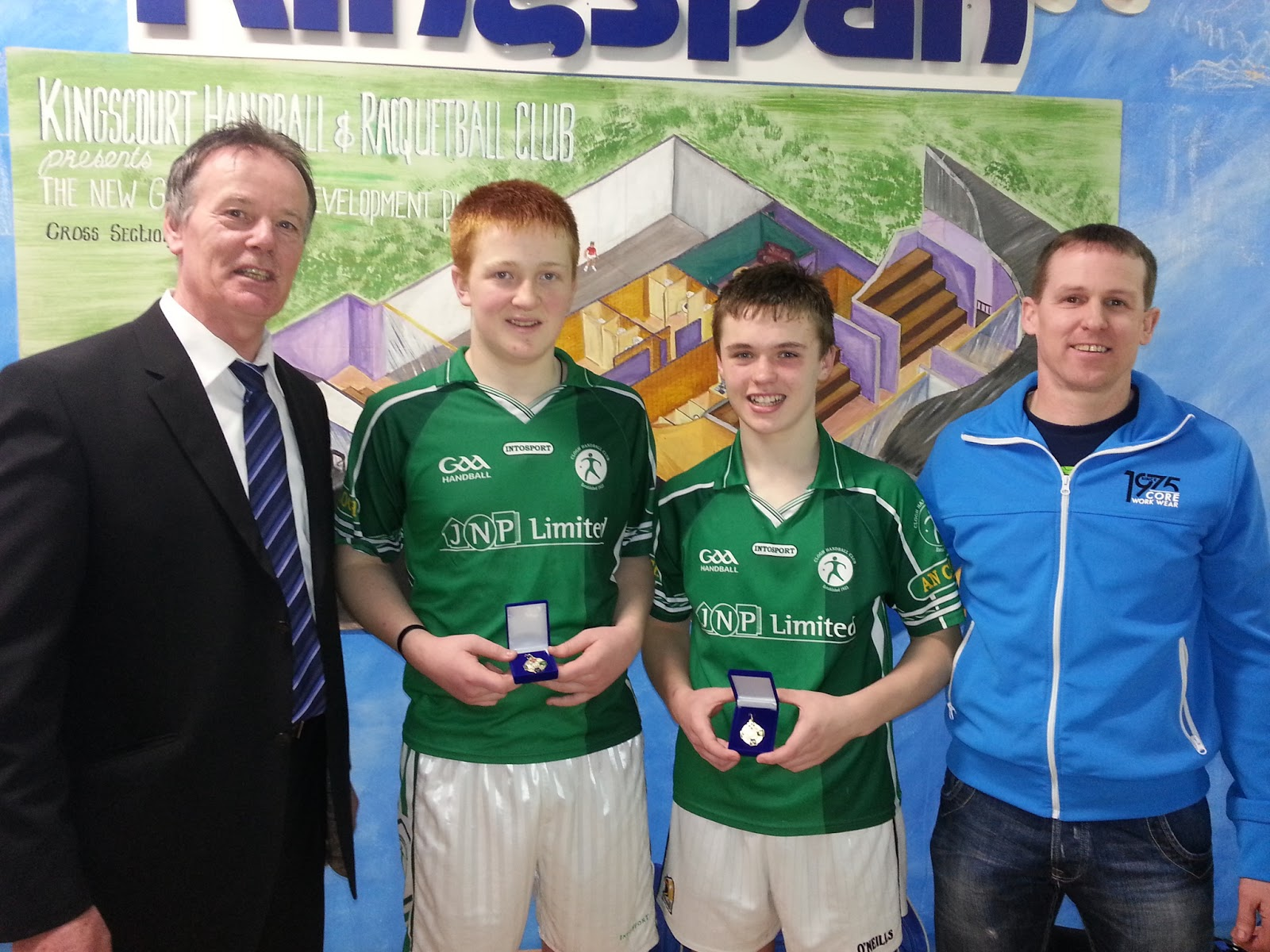 2013 All Ireland Colleges Junior Doubles winners