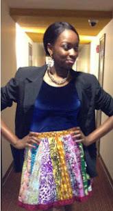 ankara styles, skirts
