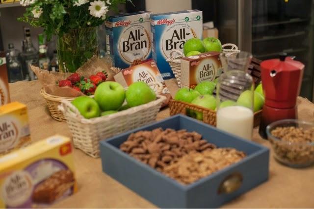 cereales evento gastronomico recetas desayuno Kellogs blogger All Bran Sonia