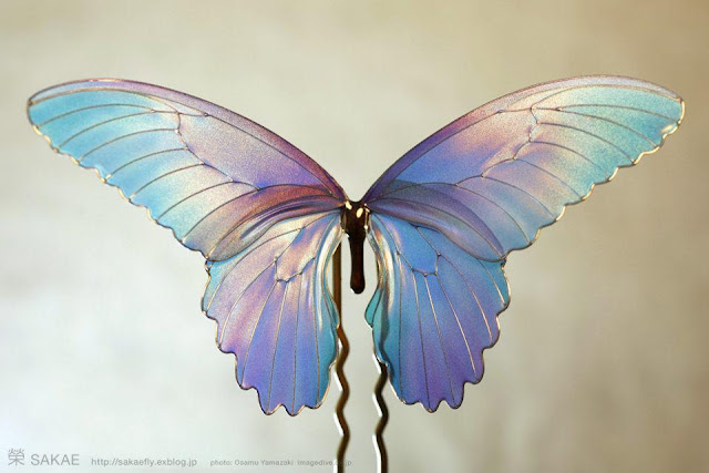 Канзаши-бабочка от Sakae