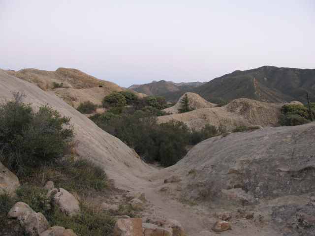 trail going through Piedra Blanca