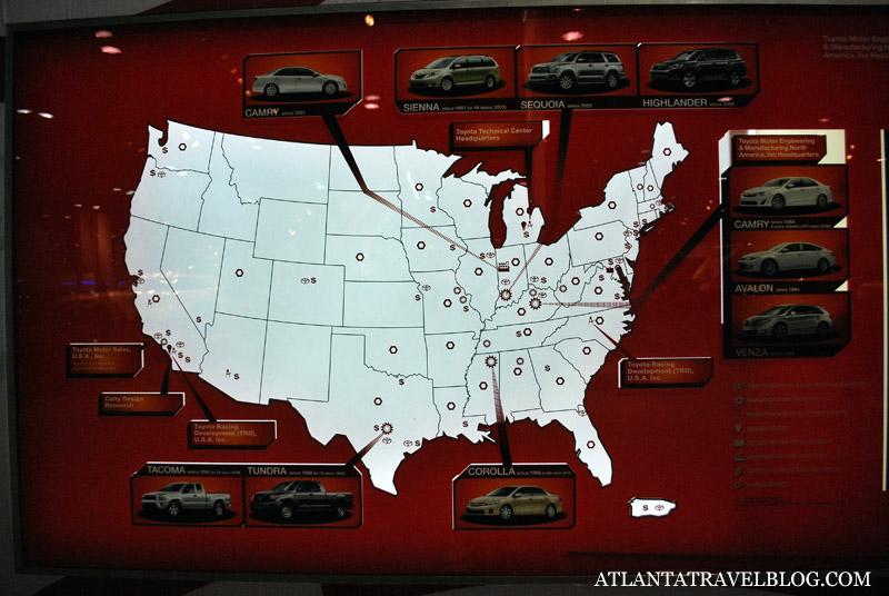 Экскурсии на автозаводы из Атланты