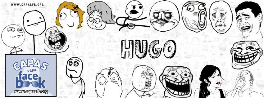 Capas para Facebook Hugo