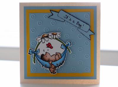 Vauvakortti pienelle pojalle