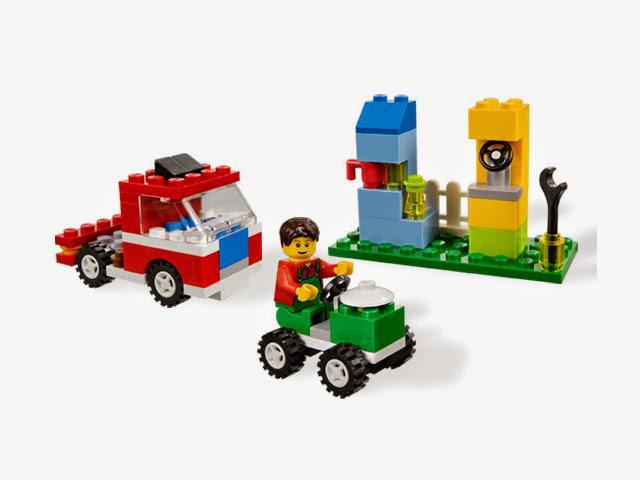 5899 レゴ 基本セット 犬のいる家