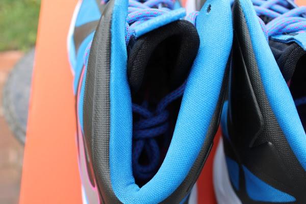 New LeBron X GS in BlackMetallic SilverPhoto BlueWhite