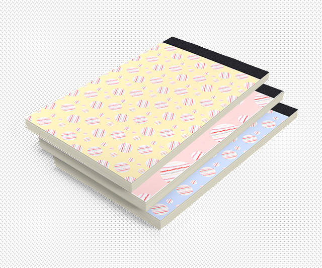 ysabel pattern notepad mockup by laura redburn