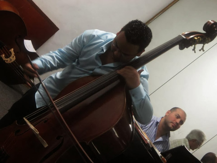 Al igual que el reconocido contrabajista Edicson Ruiz y que el principal de la Sinfónica Simón Bolívar, Claudio Hernández, Luque es pupilo del maestro Félix Petit