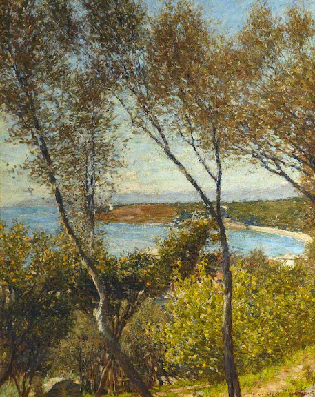 Henry Herbert La Thangue - A Ligurian Bay