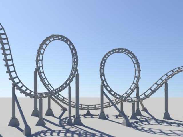 Go Back > Gallery For > Roller Coaster Outline