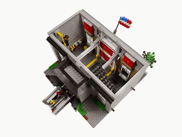 10197 レゴ ファイヤーステーション(クリエイター)