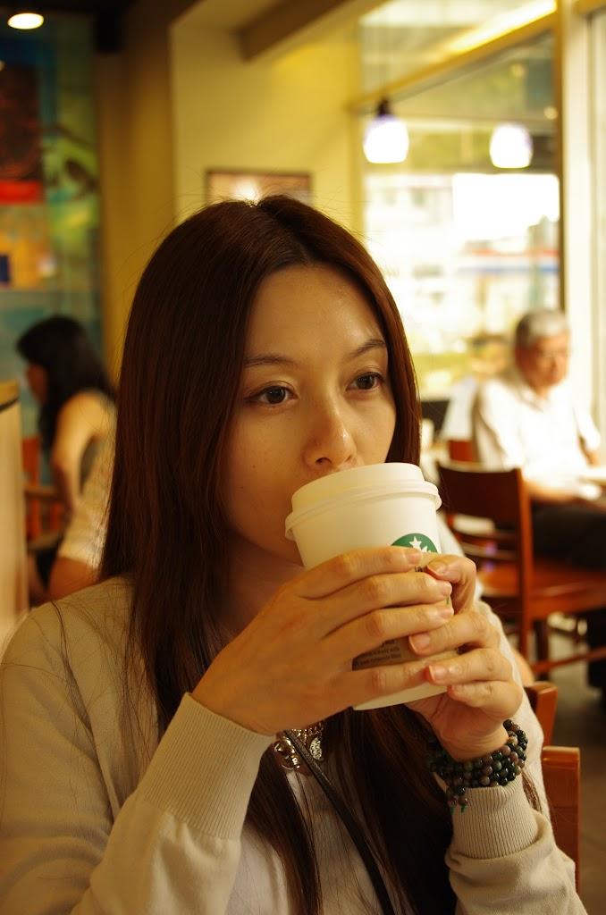 和Ms A 相約於Starbucks