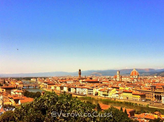 Panorámica de Florencia, desde el Piazzale Michelangelo