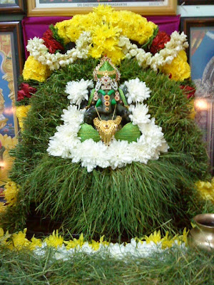 Legend associated with offering of Arugampul to Lord Ganesha
