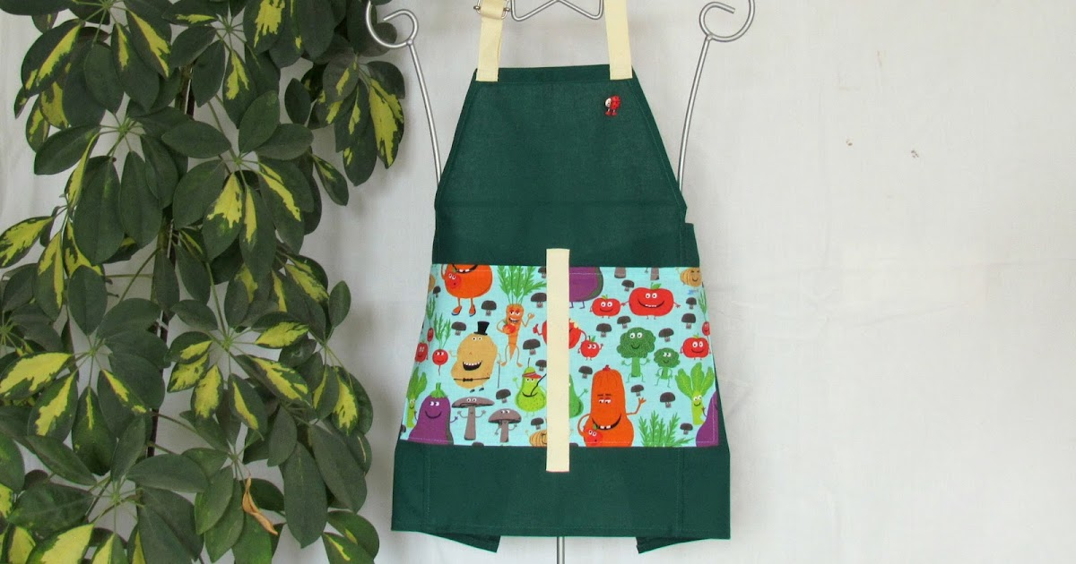 La compagnie des tabliers tablier de jardinier pour petit enfant 4 6 ans vendu - Tablier jardinier enfant ...