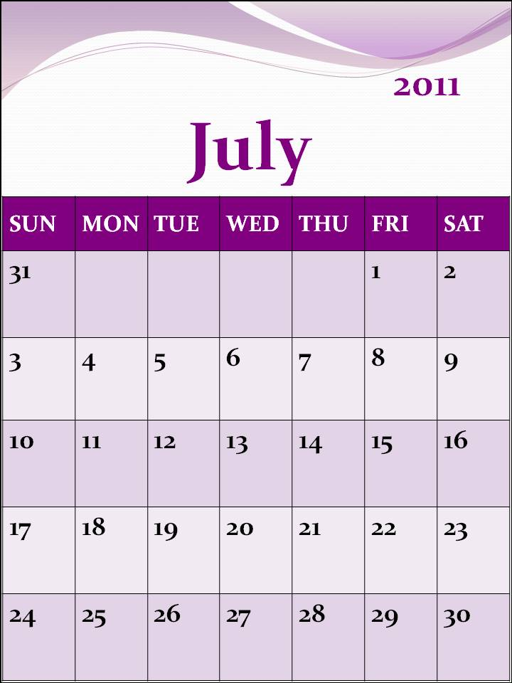 july 2011 calendar with holidays. July+2011+calendar+picture