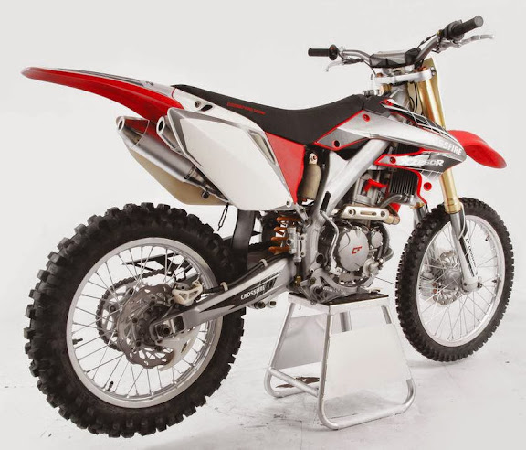 250cc Dirt bike Crossfire XZR Red