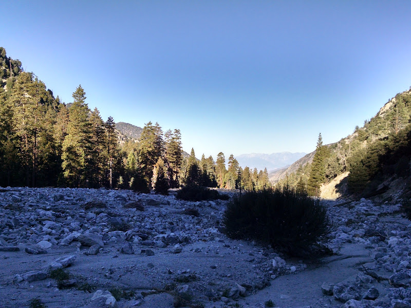 Mount San Gorgonio • Mill Creek Riverbed