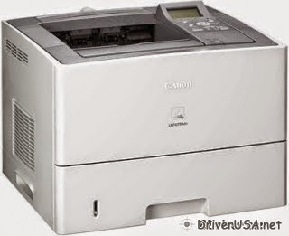 download Canon LBP6750dn printer's driver