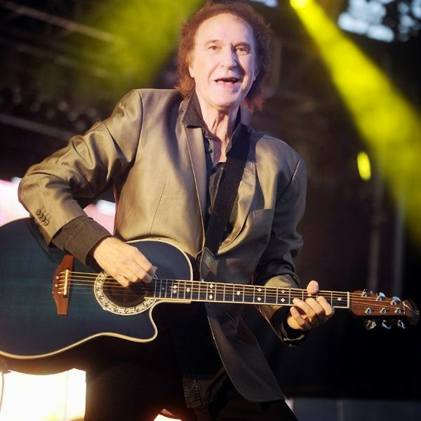 Former leader of rock band The Kinks, Britton Ray Davies performs during the first day of the 49th Jazzaldia Jazz festival of San Sebastian, north of Spain on July 23, 2014.
