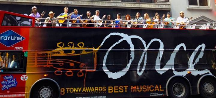 ONCE musical tour