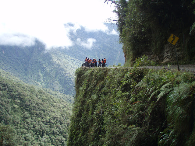 The death road, Bolivia.